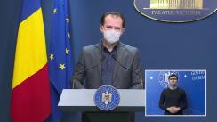 Conferință de presă după ședința Guvernului României din 18 februarie 2021