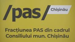 """Conferință de presă organizată de Fracțiunea PAS din CMC cu tema """"Cum Primăria mimează gestionarea problemei câinilor maidanezi"""""""