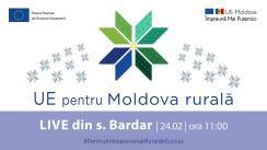 """LIVE Tour """"UE pentru Moldova Rurală"""": Cunoaște istoria de succes a beneficiarului PARE 1+1, Victor Nistorică din s. Bardar r.Ialoveni"""