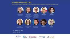"""EU Debates Cafe organizat de Institutul pentru Politici și Reforme Europene cu tema """"Un plan de investiții și relansare economică pentru Republica Moldova: necesități, priorități, surse"""""""