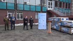 Ceremonia de acordare a ajutorului umanitar din partea NATO