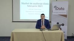 """Conferința de presă organizată de compania Date Inteligente SRL (iData) cu tema """"Studiu de audiență iData – ediția lunii februarie 2021"""""""