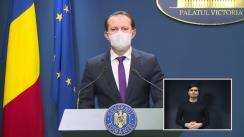 Conferință de presă după ședința Guvernului României din 24 februarie 2021