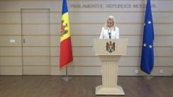 """Briefing de presă susținut de către deputații Partidului """"ȘOR"""" și cei ai Platformei parlamentare """"Pentru Moldova"""""""