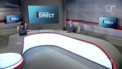 """Emisiunea """"Moldova în direct"""" de la postul de televiziune Moldova1. Invitat - Igor Dodon"""