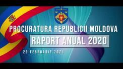 Prezentarea publică a rapoartelor de activitate a Consiliului Superior al Procurorilor și Procuraturii Republicii Moldova pentru anul 2020