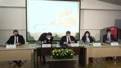 Conferință de presă susținută de conducerea Companiei Naționale Poșta Română