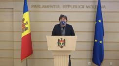 Briefing de presă susținut de Deputatul Fracțiunii PAS, Blocul ACUM, Dumitru Alaiba