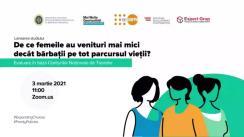 """Evenimentul de lansare a studiului """"De ce femeile au venituri mai mici decât bărbații pe tot parcursul vieții? Evaluare în baza Conturilor Naționale de Transfer"""""""