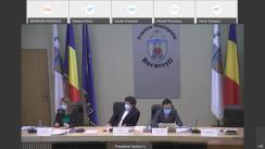 Ședința Consiliului General al municipiului București din 26 februarie 2021