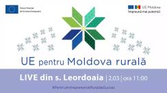 """LIVE Tour """"UE pentru Moldova Rurală"""": Cunoaște istoria de succes a beneficiarului PARE 1+1, Larisa Ambrosii din s. Leordoaia r. Călărași"""