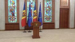 Briefing de presă susținut de Președintele Republicii Moldova, Maia Sandu, după ședința Consiliului Suprem de Securitate din 26 februarie 2021