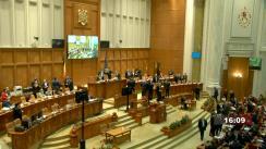 Ședința comună a Camerei Deputaților și Senatului României din 1 martie 2021