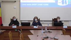 Conferință de presă organizată de Ministerul Sănătății, Muncii și Protecției Sociale privind demararea campaniei de vaccinare împotriva COVID-19 în Republica Moldova