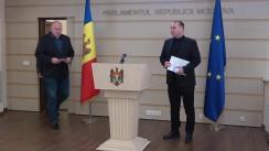 Conferință de presă organizată de Partidul Socialiștilor din Republica Moldova
