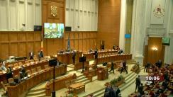 Ședința comună a Camerei Deputaților și Senatului României din 2 martie 2021