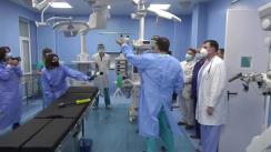 """Deschiderea unei noi săli integrate de operații la """"Institutul de Neurologie și Neurochirurgie"""""""