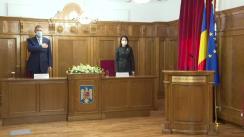 Alocuțiune susținută de Președintele României Klaus Iohannis la prezentarea raportului de activitate a Înaltei Curți de Casație și Justiție din România