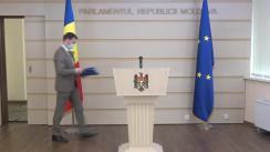 Briefing de presă susținut de deputatul Fracțiunii ACUM PLATFORMA DA, Dinu Plîngău