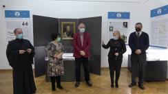 """Vernisajul expoziției Eteria și Principatele Române. Bicentenar"""", organizată în cadrul Muzeului de Istorie al Palatului Culturii"""