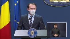 Conferință de presă după ședința Guvernului României din 3 martie 2021