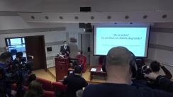 Dezbatere organizată de Biblioteca Academiei Române referitoare la degradarea clădirilor