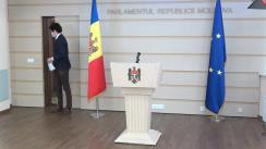 Declarațiile lui Radu Marian în timpul ședinței Parlamentului Republicii Moldova din 4 martie 2021