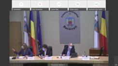 Ședința extraordinară a Consiliului General al Municipiului București din 5 martie 2021