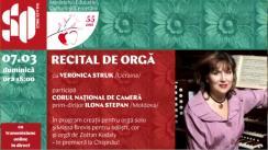 """Concert la Sala cu Orgă. Recital de orgă cu Veronica Struk/Ucraina, în cadrul Festivalului Internațional de Muzică """"Mărțișor"""", ediția 55"""