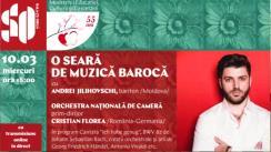 """Concert la Sala cu Orgă. O seară de muzică barocă, în cadrul Festivalului Internațional de Muzică """"Mărțișor"""", ediția 55"""