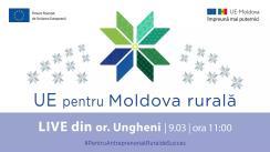 """LIVE Tour """"UE pentru Moldova Rurală"""": Cunoaște istoria de succes a beneficiarei Femei în Afaceri, Liliana Starciuc din mun. Ungheni"""