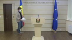 """Briefing de presă al deputatului Fracțiunii parlamentare PAS, Blocul ACUM, Dan Perciun, cu tema """"Propunerile PAS pentru stimularea angajării persoanelor cu dizabilități"""""""