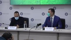 """Conferință de presă susținută de Ministrul mediului, apelor și pădurilor, Tánczos Barna, cu ocazia lansării Campaniei """"Vinerea Verde –  Stop! Azi, mașina stă pe loc!"""""""
