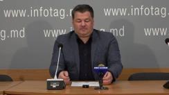 """Conferință de presă susținută de activistul Alexandr Rotari cu tema """"Începutul colectării semnăturilor cetățenilor în cadrul unui apel adresat lui Vladimir Putin cu o cerere de deschidere a unui consulat al Federației Ruse în Găgăuzia"""""""