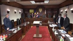 Ședința Curții Constituționale de examinare a sesizării privind controlul constituționalității Legii nr. 236 din 16 decembrie 2020 privind modificarea unor acte normative și a Legii nr. 240 din 16 decembrie 2020 pentru modificarea unor acte normative