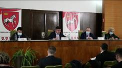 Ședința extraordinară a Consiliului Județean Iași din 12 martie 2021