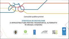 Prezentarea publică a proiectului Strategiei de dezvoltare a infrastructurii pentru transport alternativ în orașul Chișinău
