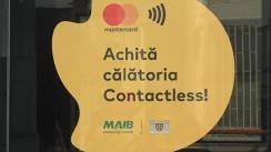 Lansarea proiectului-pilot privind sistemul de taxare electronică în transportul public municipal, în parteneriat cu MasterCard
