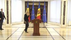 Consultările Președintelui Republicii Moldova, Maia Sandu, cu Fracțiunea Partidului ȘOR și Grupului Pentru Moldova