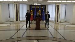 Consultările Președintelui Republicii Moldova, Maia Sandu, cu Fracțiunea Partidului Acțiune și Solidaritate