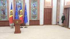 Declarații de presă susținute de Președintele Republicii Moldova, Maia Sandu, după consultările cu fracțiunile și grupurile politice parlamentare