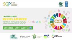 """Lansarea proiectului """"Reciclăm DEEE și realizăm ODD"""""""