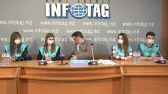 """Conferință de presă organizată de activistul Alexandr Rotari cu tema """"Rezultatele primei etape a campaniei de colectare a semnăturilor pentru deschiderea consulatului Federației Ruse în Găgăuzia"""""""