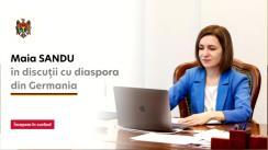 Președintele Republicii Moldova, Maia Sandu, în dialog cu diaspora din Germania