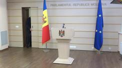 Declarațiile lui Pavel Filip în timpul ședinței Parlamentului Republicii Moldova din 18 martie 2021