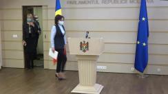 Declarația fracțiunii Partidului ȘOR și Grupului Pentru Moldova în timpul ședinței Parlamentului Republicii Moldova din 18 martie 2021