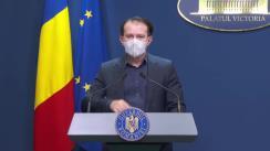Conferință de presă după ședința Guvernului României din 19 martie 2021