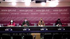 """Conferința de presă organizată de Centrul Național de Mediu cu tema """"Tăierile ilicite în contextul Zilei Internaționale a Pădurilor"""""""