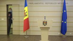 Declarațiile lui Sergiu Litvinenco în timpul ședinței Parlamentului Republicii Moldova din 19 martie 2021