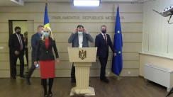 Declarațiile lui Denis Ulanov în timpul ședinței Parlamentului Republicii Moldova din 19 martie 2021